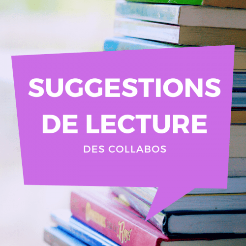 Suggestions de lectures – Septembre 2020