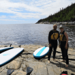 Paddle board cote-nord