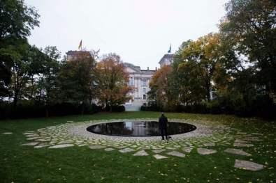 Мемориал на убитите по времето на нацизма роми, Берлин.