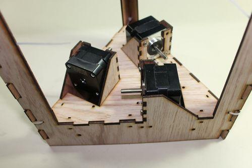 DeltaRobot8 motor mount into frame 2.jpg