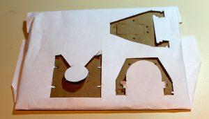 cardboard prototype working