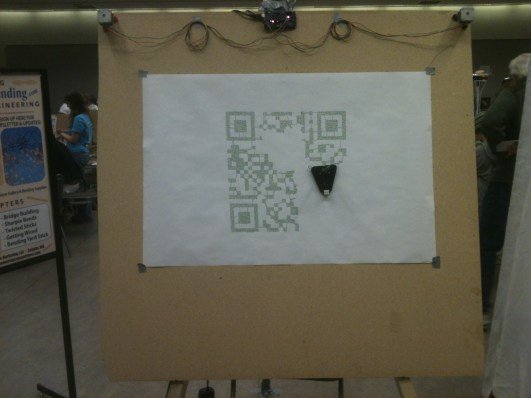 Drawbot does a QR code
