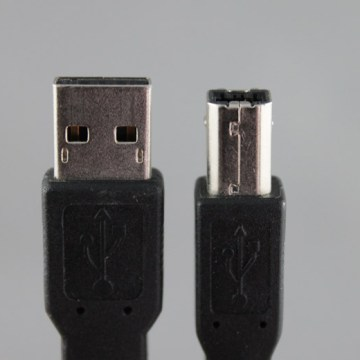 USB cable, A to B, 1.5m
