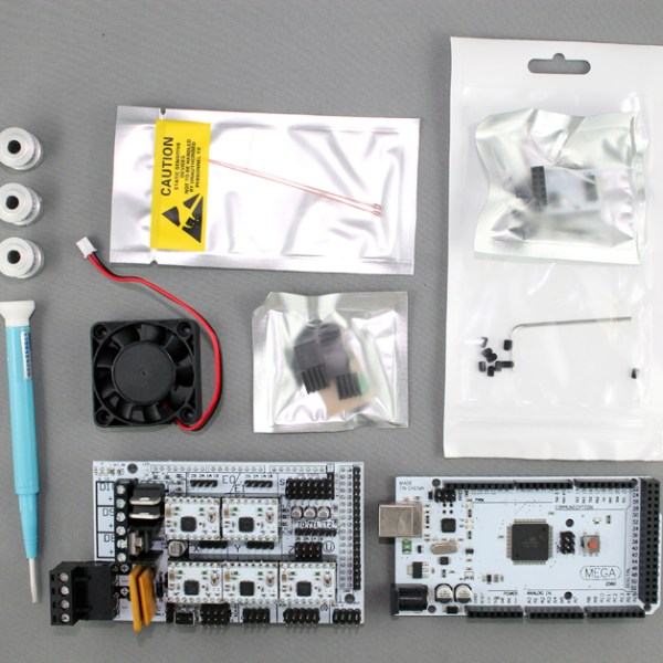 RAMPS electronics package