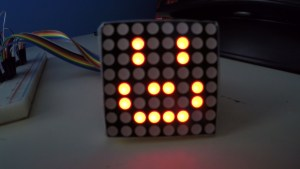 ELEC-0082 LED grid red