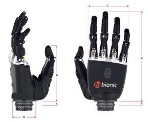 bebionic prosthetic hand