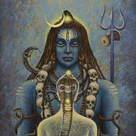 shiva-Kundalini Shakti de Vrindavan Das - Margit-Glassel