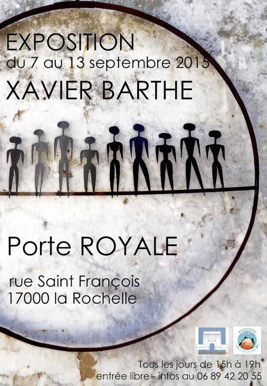 Affiche Xavier Barthe Porte Royale