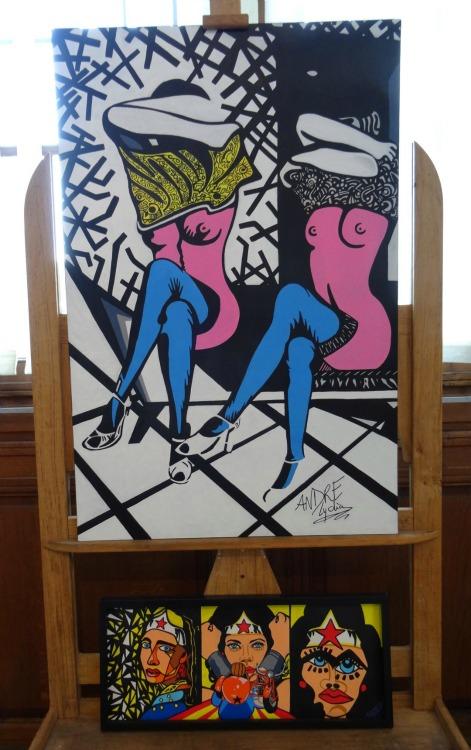 L'Art en Gare, Lydia André Galerie Esquié La Rochelle