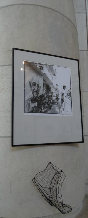 L'Art en Gare, Pascal Bernard et Okola Galerie Esquié La Rochelle
