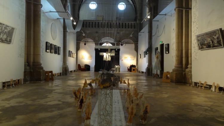 Chapelle des Dames Blanches Exposition Gérard Lhériteau