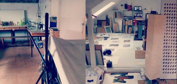 Atelier de Tangui Robert