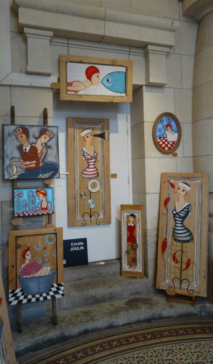 L'Art entre en gare ! Coralie Joulin Galerie Esquié La Rochelle
