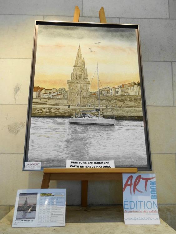 L'Art entre en gare ! Eva Visna Galerie Esquié La Rochelle