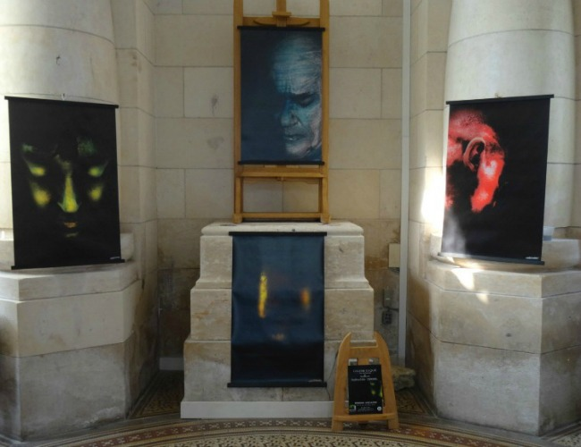 L'Art entre en gare ! Expo Murmures stellaires de Guénolée Carrel Galerie Esquié du 12 au 18 mars 2016
