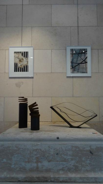 L'Art entre en gare ! Expo Renée Cominassi et Josée Van Lierop Galerie Esquié du 19 au 25 mars 2016