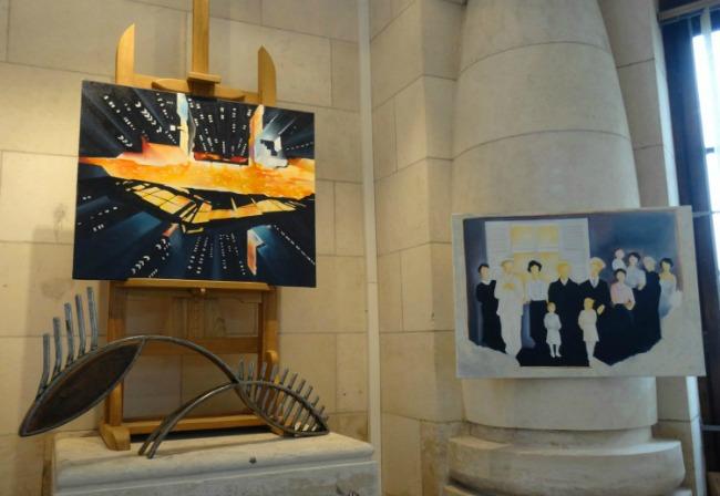 L'Art entre en gare ! Exposition de Charles Henry Frasson et Jean Etienne Drignon à la galerie Esquié