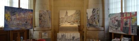 Des expositions en gare de La Rochelle, Véronique Bandry du 7 au 13 janvier 2017