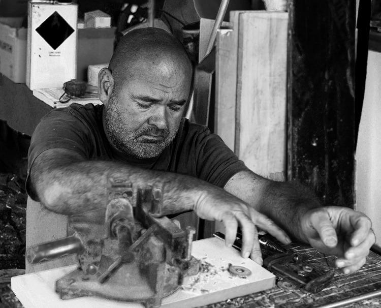 Philippe-Roy-Sculpteur-atelier par Anna ORA