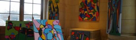 artistes en gare, Exposition de Séverine Troger Galerie Esquié La Rochelle du 18 au 24 février 2017