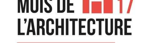Mois de l'architecture à La Rochelle, Mois de l'architecture et du cadre de vie 2017