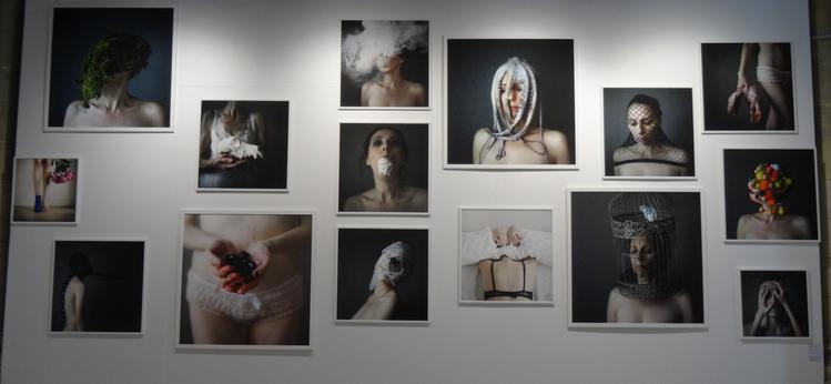 Emmanuelle Brisson 11 artistes pour 100 portraits La Rochelle