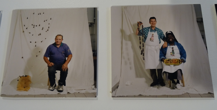 Olivia Maria Da Silva 11 artistes pour 100 portraits La Rochelle