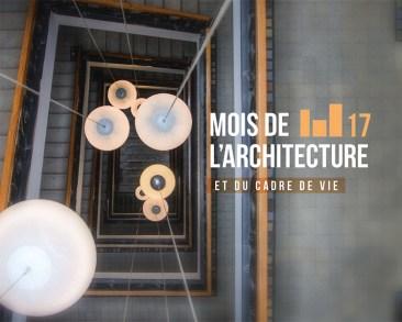 Mois de l'architecture et du cadre de vie 2018