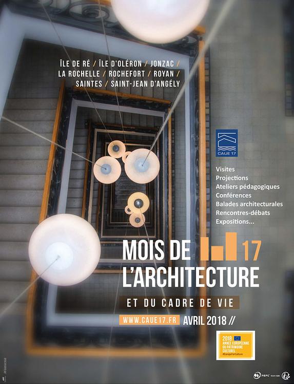 Mois de l'architecture et du cadre de vie en Charente Maritime 2018