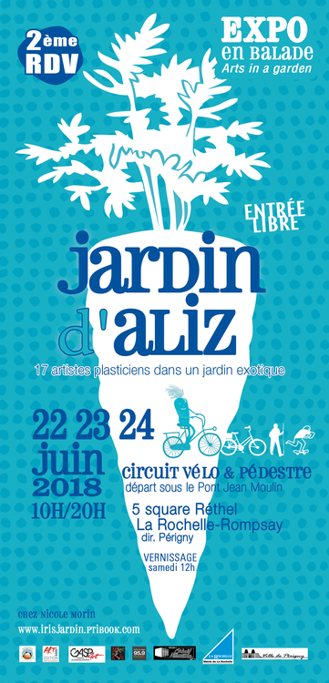 jardin d'Aliz 2018 - Affiche