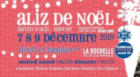 Aliz de noël - Jardin d'Aliz du 7 au 9 décembre 2018