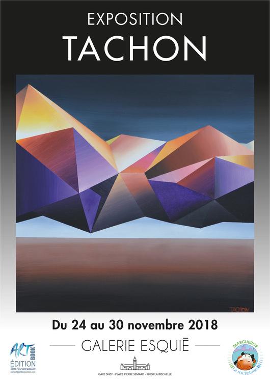 Art contemporain en gare de La Rochelle Exposition de Tachon Galerie Esquié La Rochelle du 24 au 30 novembre 2018