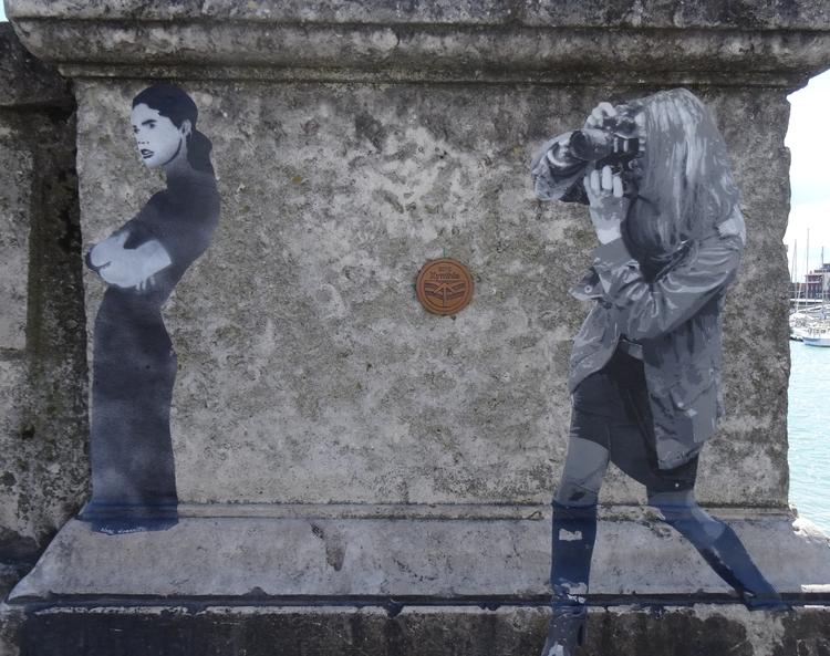 Noarnito des histoires sur les murs de La Rochelle