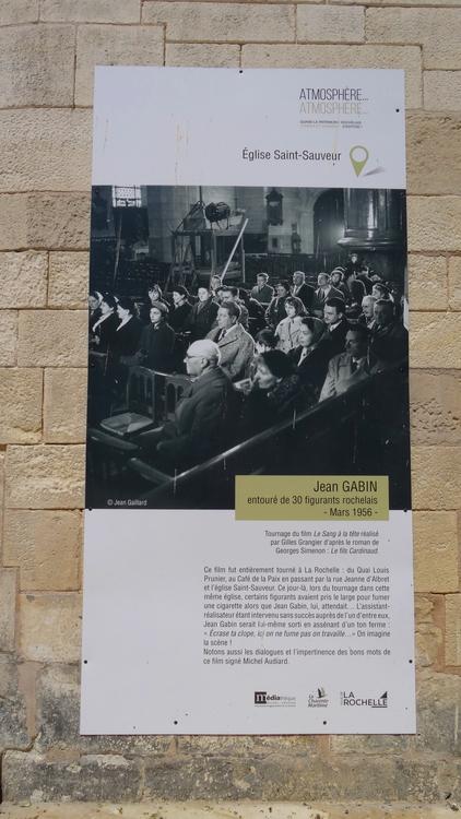 Atmosphère Atmosphère La Rochelle, de mai à septembre 2019 - Jean Gabin