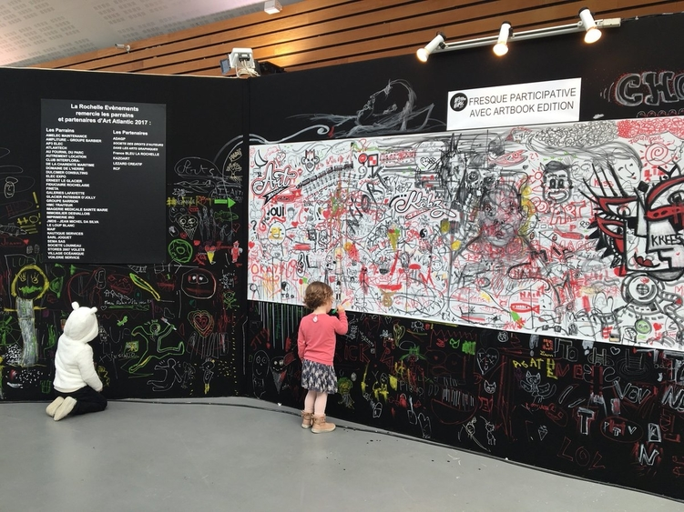 Arts Atlantic Festival des Arts 2019 - Fresque Artbook Edition