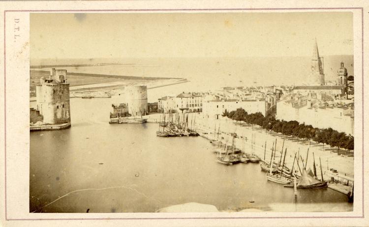 Denis Tallon-Larente - Vue du Port de la Rochelle