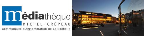 Médiathèque Michel Crépeau - Logo