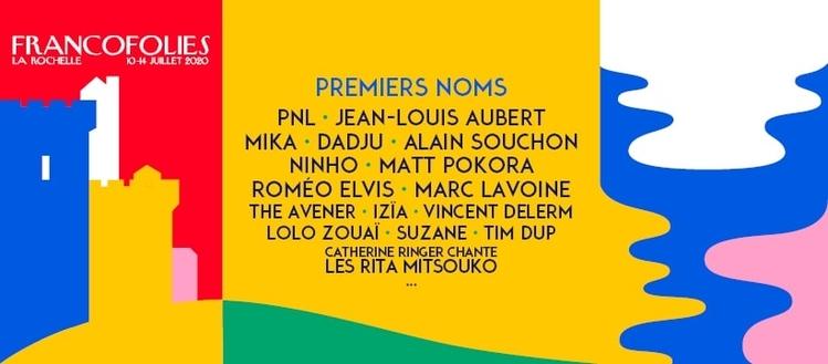 Francofolies 2020 - Premiers noms