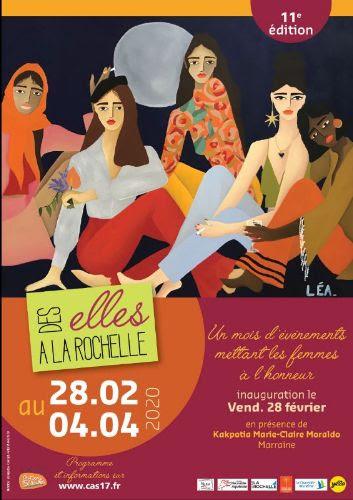Des Elles à La Rochelle du 28 février au 4 avril 2020