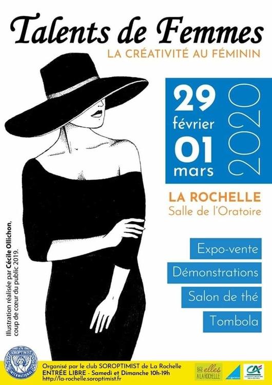 Des Elles à La Rochelle Talents de femmes