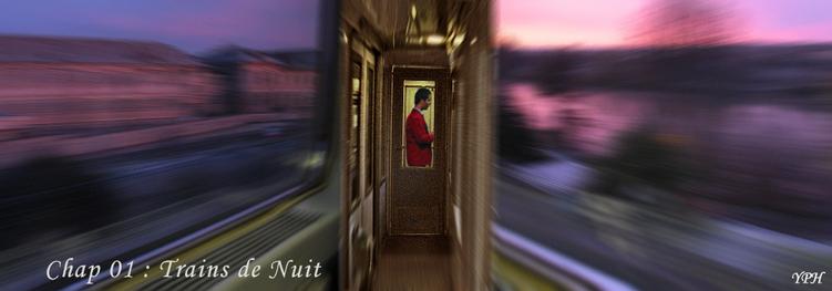 Voyages-train de nuit-Yves Phelippot