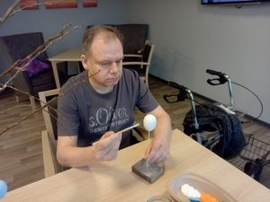 Ostereieranmalaktion im ASPIDA Pflegecampus Plauen