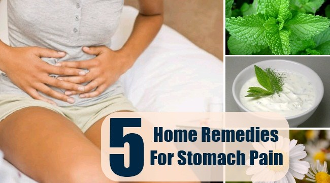 Homemade Remedies For Stomach Pain