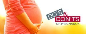 5 Do's And Don'ts During Pregnancy