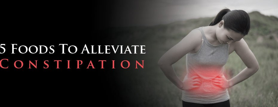 5 Foods To Alleviate Constipation
