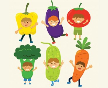 Tricks to Make Vegetable Eating Interesting for Kids