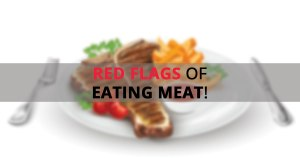 red-flags of eating meat