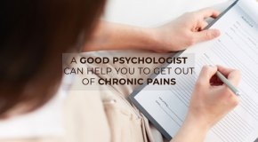 Psychologist for chronic pain