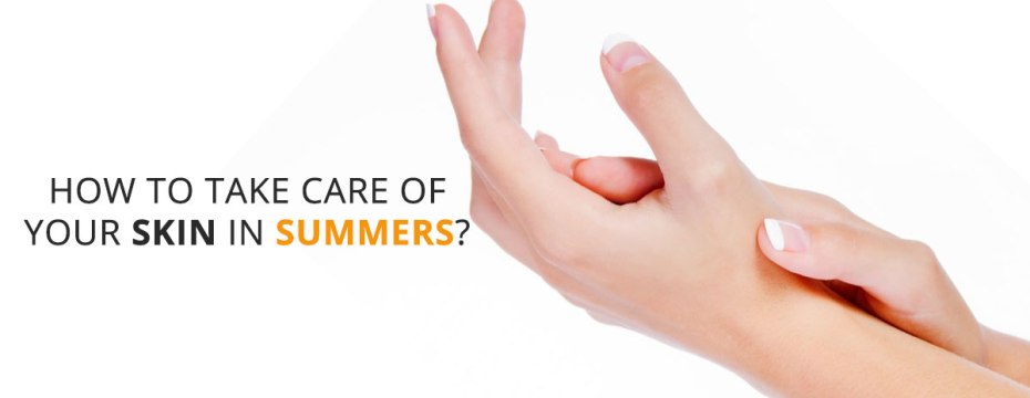 Protect skin in summer