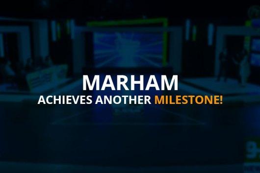 Marham in Idea Croron Ka TV Show